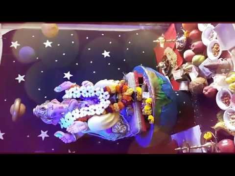 Yukti Ravaria Home Ganpati Decoration Video