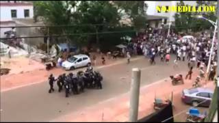 Riots in DR Congo