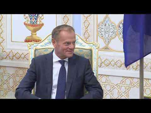 President Tusk visits Tajikistan