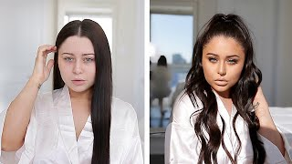 2 HOUR GLAM TRANSFORMATION... GET READY WITH ME!