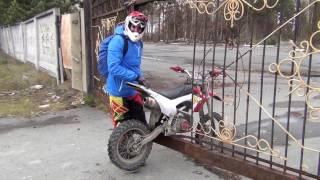 Питбайк заброшенная воинская часть pitbike old buildings