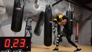 SWEAT SHOP 20 MINUTE WORKOUT | BIKE AND HEAVY BAG | INTERVALS by NateBowerFitness