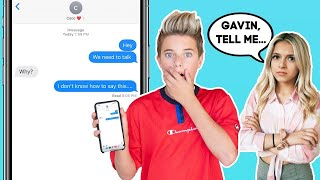 My Crush Reacts To A Shocking SECRET **SHE WAS REALLY MAD**   Gavin Magnus ft. Coco Quinn