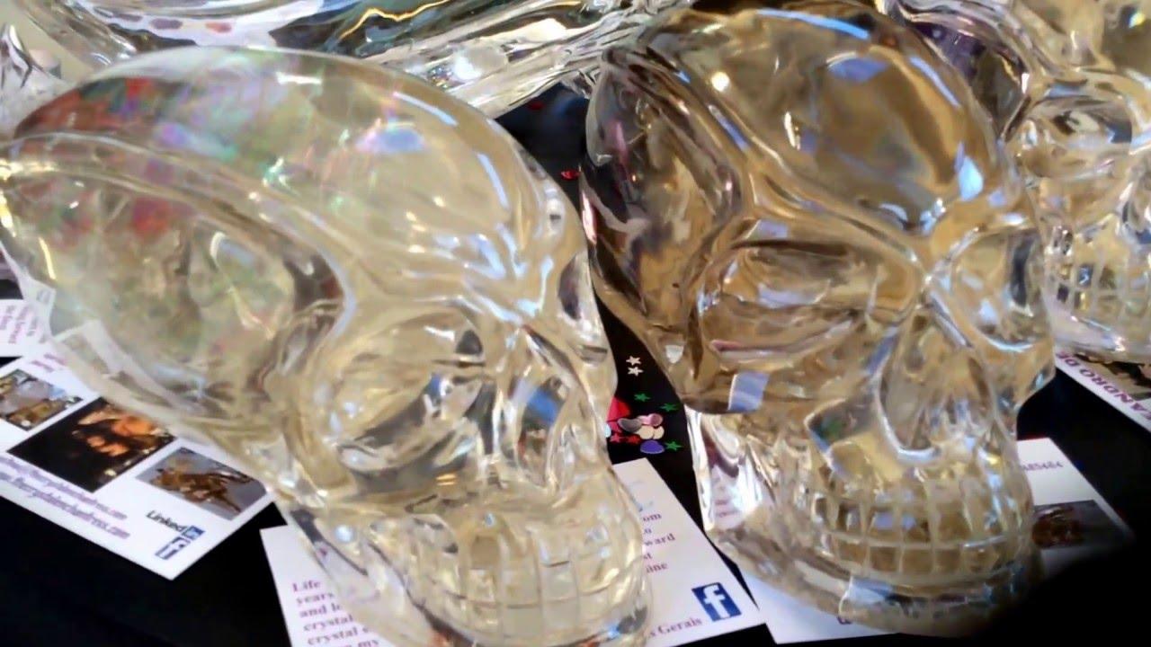 World's FINEST ULTRA RARE CITRINE traveller style skulls from Leandro de Souza.