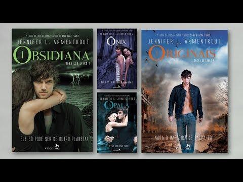 Informações sobre a Saga Lux - Obsidiana, Ônix, Opala, Originais e...
