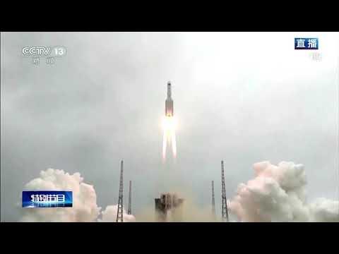 Chinese rocket debris lands in Indian Ocean