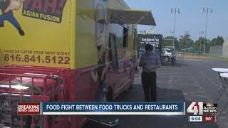 North Kansas City to discuss dispute between food trucks and local restaurants