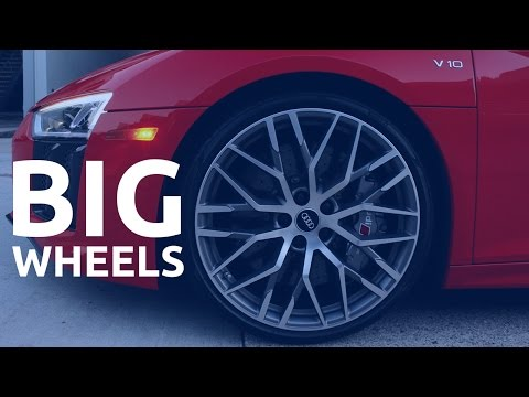 Big Wheels Vs. Small Wheels - Performance Vs. Comfort