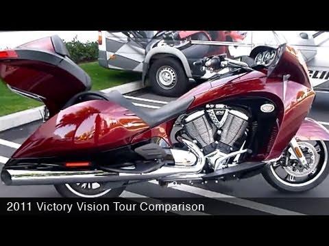MotoUSA 2011 Victory Vision Tour Comparison