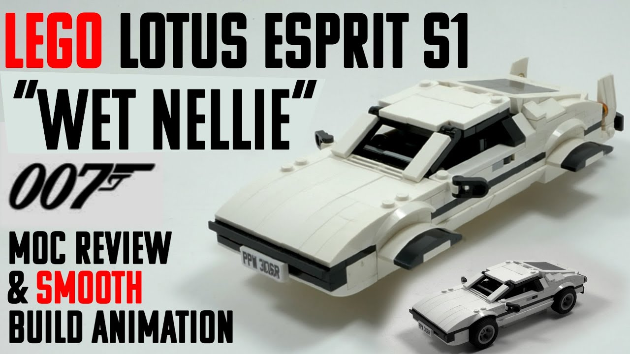 LEGO 007 LOTUS ESPRIT S1 - MOC REVIEW - MOC BY MKIBS