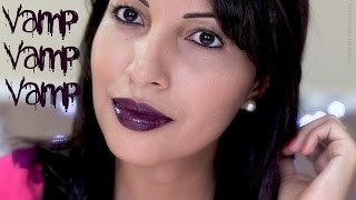 Gambar cover Resenha: Batom Vamp da Avon  #Roxo
