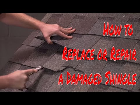 How to Replace or Repair a Damaged Shingle by RoofingIntelligence.com