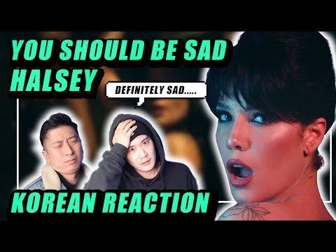 🔥(ENG) KOREAN Rappers react to Halsey - You should be sad 🔥