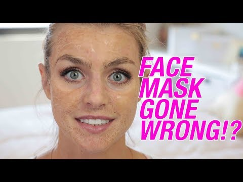Instagram Viral Face Mask Hanacure Review