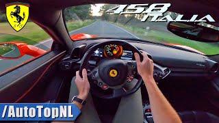 FERRARI 458 W/ Custom Headers *INSANE SOUND* POV Test Drive By AutoTopNL