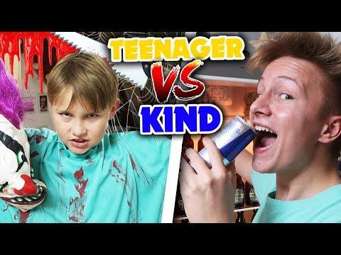 Teenager vs Kind - HALLOWEEN 🎃👻
