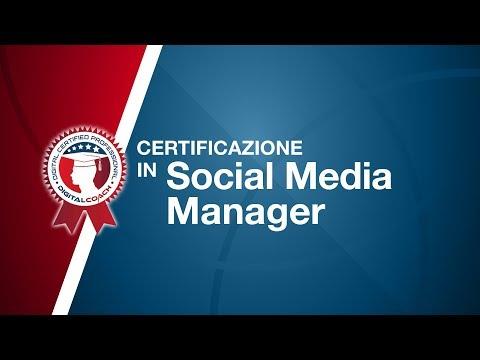 SOCIAL MEDIA MANAGER CERTIFICATION - YouTube