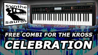 🎹 Free Korg Kross Combi Download: Celebration!