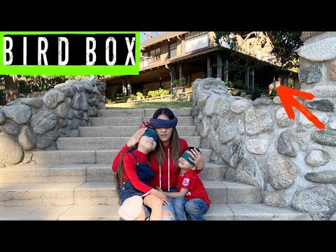 BIRD BOX CHALLENGE * We went to The ACTUAL HOUSE Were The MOVIE Was FILM* | Jancy Family