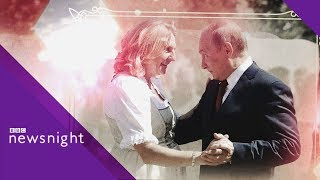 Why did Vladimir Putin attend the Austrian FM's wedding?  - BBC News
