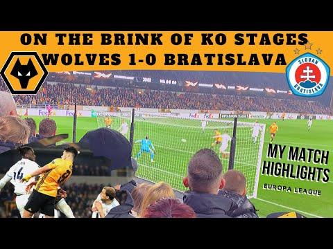 Jimenez Heads Wolves to Brink of Europa KO Stages 🏆  WOLVES 1-0 SLOVAN BRATISLAVA Match Vlog