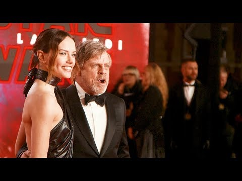 Star Wars: The Last Jedi - European Royal Premiere Highlights