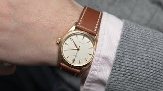Two RARE Vintage Watches, A Zodiac Seawolf & Gold Rolex Precision   LUG2LUG