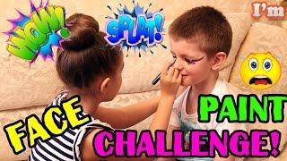 Челлендж разрисуй лицо ! Face Painting Challenge !
