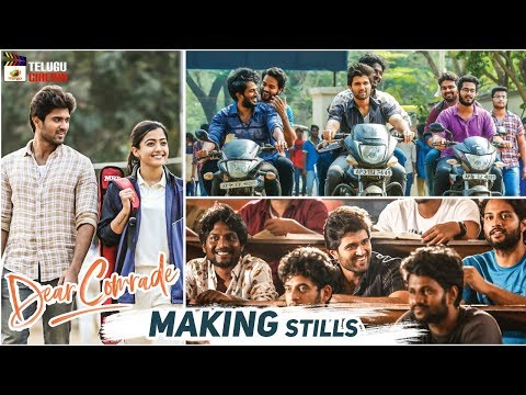 Dear Comrade Movie MAKING Stills | Vijay Deverakonda | Rashmika Mandanna | Mango Telugu Cinema