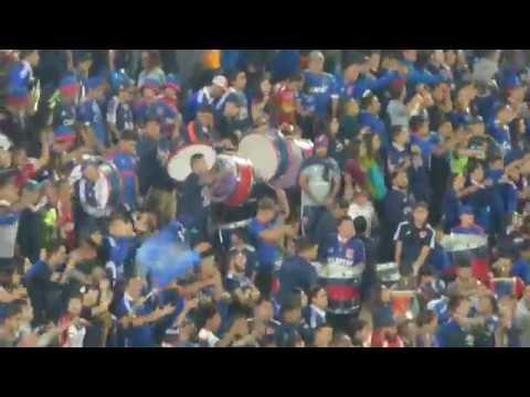 """""""Impresionante aliento de los de abajo U de Chile vs Cruzeiro 2018 Libertadores"""" Barra: Los de Abajo • Club: Universidad de Chile - La U"""