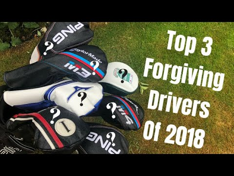 The Top 3 Forgiving Drivers for Mid to High Handicapers of 2018