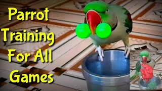 How to Train Parrot For All Games - Good tips for parrot Training in Hindi and Urdu