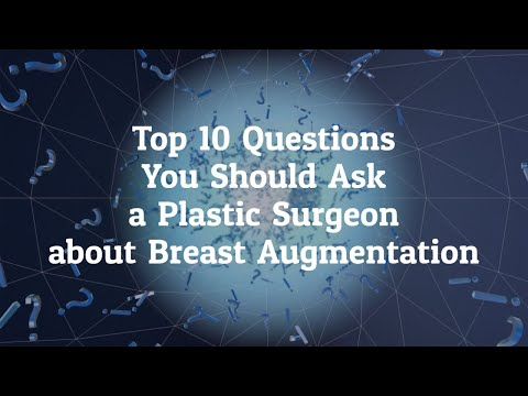 What are the Top 10 Questions you should ask a Plastic Surgeon before Going for Breast Augmentation in Seoul, Korea?