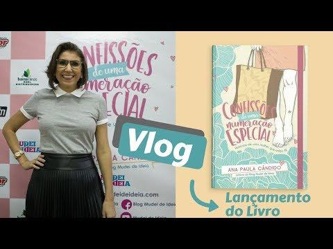Vlog do Lançamento Livro 'Confissões de uma numeração especial