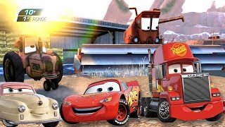 AUTA 3 Frank Ciągnik Tractor Tipping Zygzak McQueen odcinek Cars 3 #Disney Pixar Movie Games