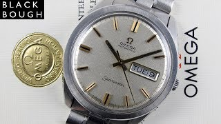 Omega Seamaster Ref. 166.032 steel vintage wristwatch, sold in 1970