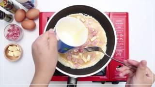 วิธีทำ ข้าวไข่ข้น by Sistacafe