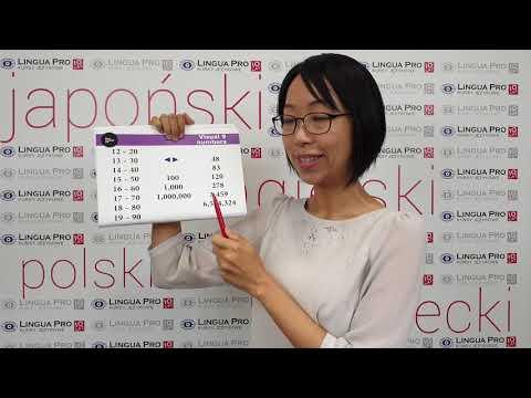 Kadr z filmu na youtube - Liczby 20,30,40...