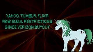 Verizon Restricts Yahoo, Flikr, Tumblr Email Login