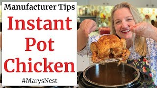 How to Cook a Whole Chicken in the Instant Pot - The Right Way!