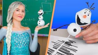 Trường Mình Có Công Chúa Disney!  10 Ý Tưởng Dụng Cụ Học Tập Vui Nhộn