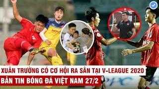Vn Sports 27/2   Tuyển nữ VN thua đậm U16 PVF, Văn Lâm bị bỏ rơi trong ngày M.U thắng to