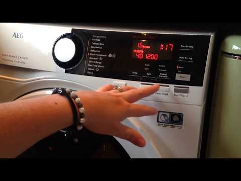 AEG 7000 Series L7WEE961R - 9kg/6kg Washer Dryer 1600rpm - intelligent dual sense technology