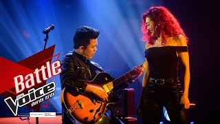 T.Y.K Trio VS แพรจ๋า - You're The One That I Want - Battle - The Voice Thailand 2019 - 2 Dec 2019
