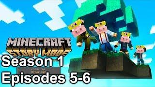 SO MANY YOUTUBERS (Minecraft Story Mode: Season 1 Episodes 5-6)
