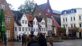preview picture of video 'Rundgang durch Flensburg und Schloss Glücksburg'