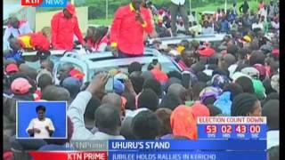 President Uhuru Kenyatta tells off opposition leader Raila Odinga over IEBC links