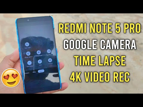 Download Redmi Note 5 Pro 4k Video Recording Without Any Root Video