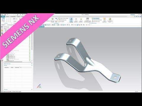 Fixture - Halter - Siemens NX 12 Training - Methods - YouTube
