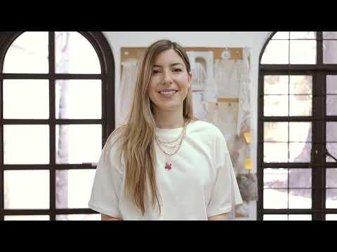 Fotografías de Detrás de la colección Ninfa de Adriana Madrid Bridal